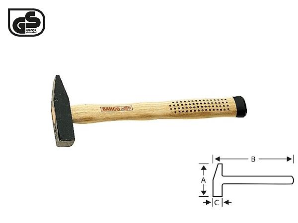 Шлосерски чук с метална глава 1500g BAHCO 481-1500