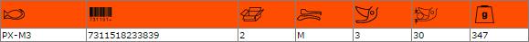 Професионална лозарска ножица до 30mm BAHCO PX-M3