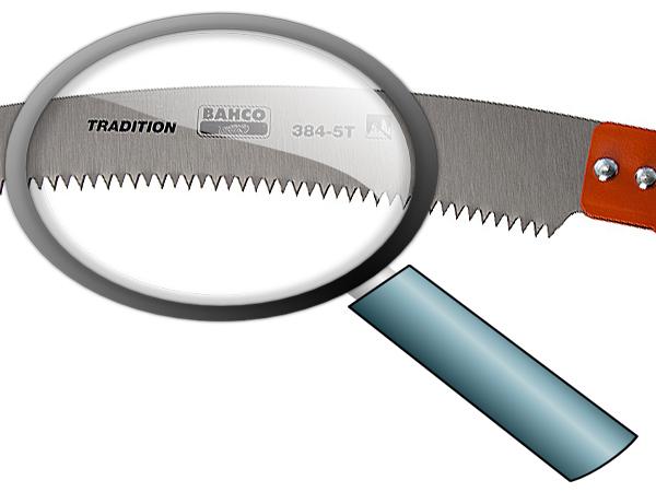 Телескопичен трион заточващи зъби 360mm BAHCO 384-5T