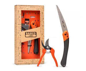 Комплект Лозарска ножица и Сгъваем трион BAHCO GIFTPACK396-HP