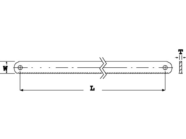Лента за механична ножовка BAHCO 3809-500-45-2.25-4