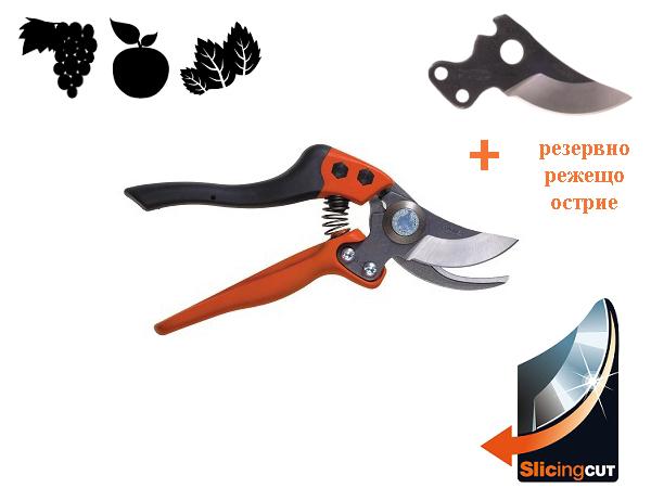 Професионална лозарска ножица до 30mm BAHCO PX-M3-R500P