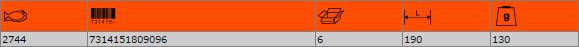 Ножица за рязане на ламарина BAHCO 2744