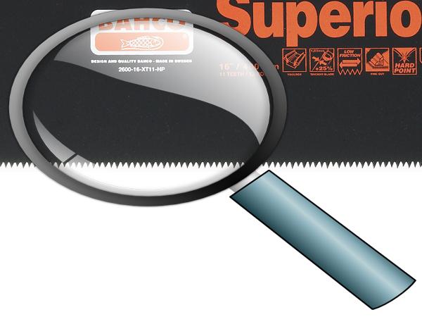 Ръчен трион тефлоново покритие BAHCO 2600-16-XT11-HP