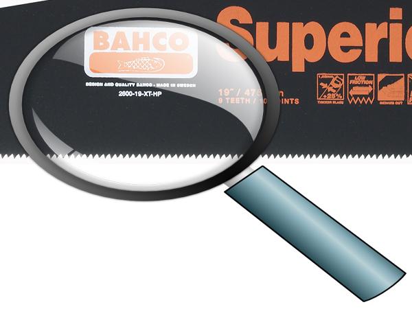 Ръчен трион тефлоново покритие BAHCO 3150-12-XT9-HP