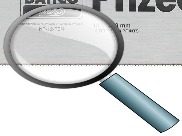 Ръчен трион тип Пасвател BAHCO NP-12-TEN