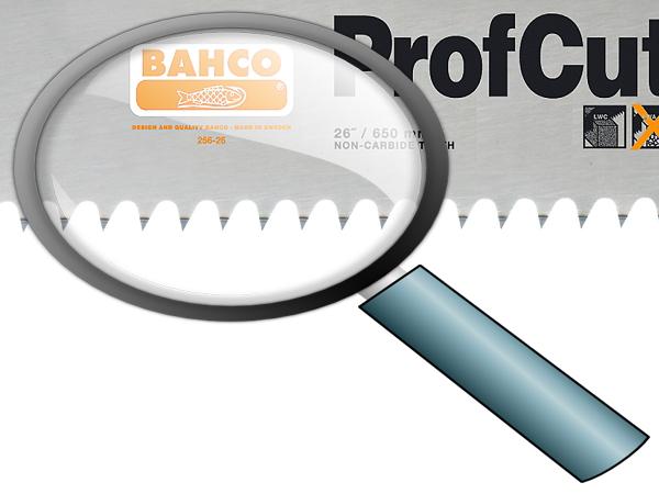 Ръчен трион за итонг/газобен BAHCO 256-26
