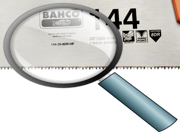 Ръчен трион закалени зъби BAHCO 144-20-8DR-HP