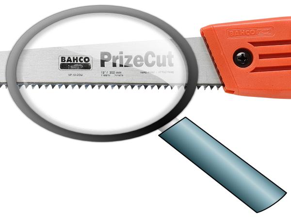 Ръчен трион закалени зъби BAHCO NP-12-COM