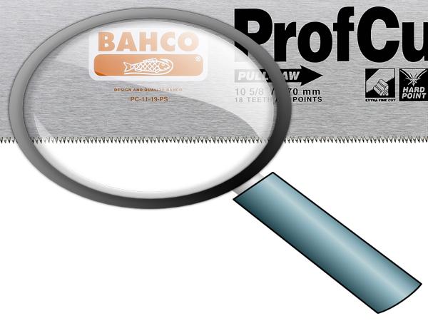 Ръчен трион закалени зъби BAHCO PC-11-19-PS