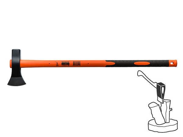 Брадва за цепене 900mm BAHCO LS-MERLIN-2.5FG