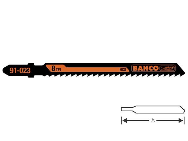 Ножове за зеге - дърво 100mm BAHCO 91-023-5P