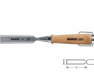 Плоско длето с дървена дръжка 12mm BAHCO 425-12