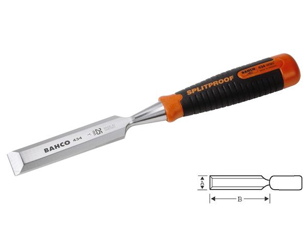 Плоско длето с пластмасова дръжка 8mm BAHCO 434-8