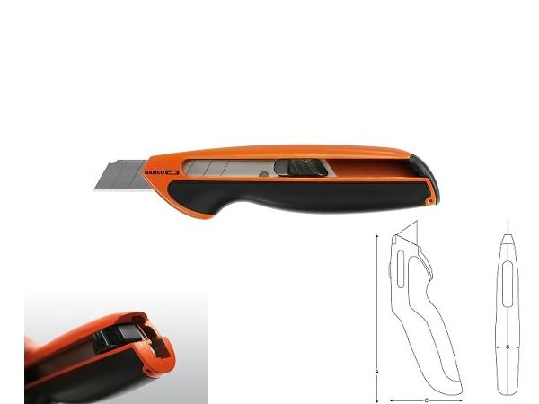 Професионален макетен нож BAHCO KB18-01