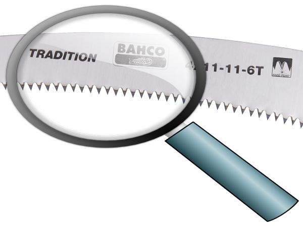 Овощарски трион закалени зъби 280mm BAHCO 4211-11-6T