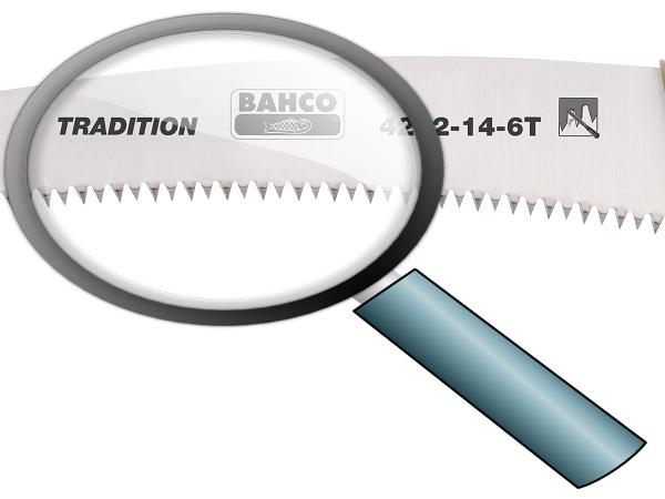 Овощарски трион заточващи зъби 360mm BAHCO 4212-14-6T