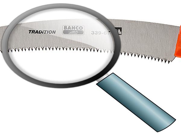 Телескопичен трион закалени зъби 360mm BAHCO 339-6T