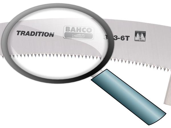 Телескопичен трион закалени зъби 360mm BAHCO 383-6T