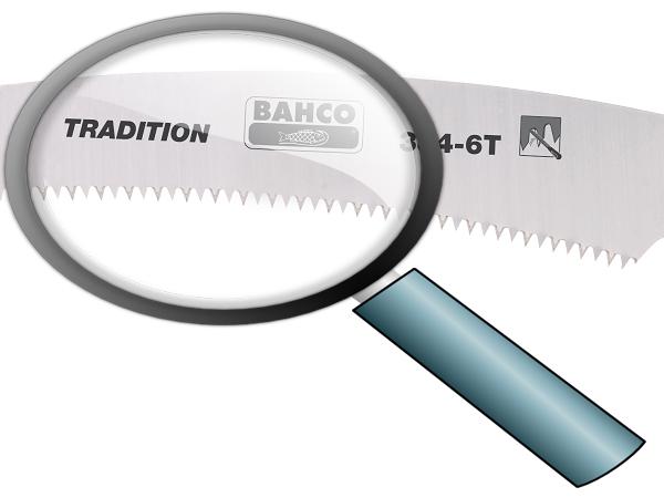 Телескопичен трион заточващи зъби 360mm BAHCO 384-6T