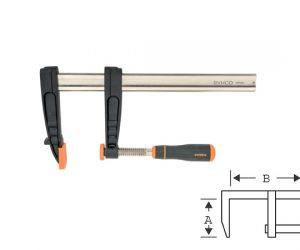 Дърводелска стяга - винтова 800mm BAHCO 420SH-120-800