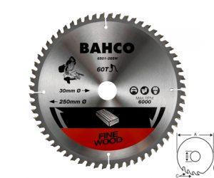 Циркулярен диск за дърво 216mm BAHCO 8501-18SW